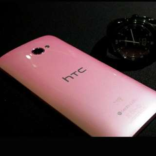 HTC Butterfly 蝴蝶機 粉 限量 ONE