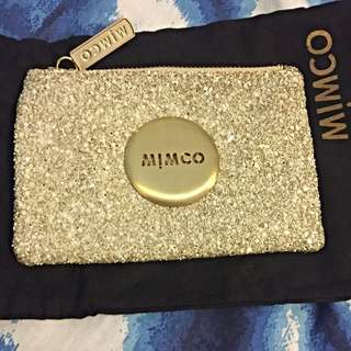 Mimco Tiny Sparks Pouch Milkyway