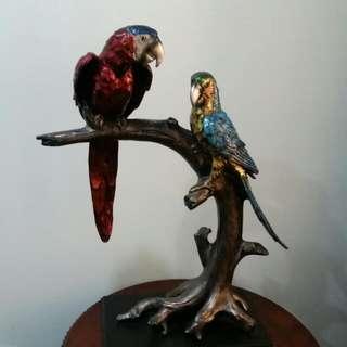2 Parrots,  Home , Office Decoration