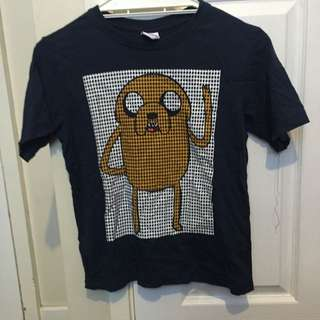 Navy Adventure Time T-short