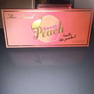 Too Faced Sweet Peach Pallette