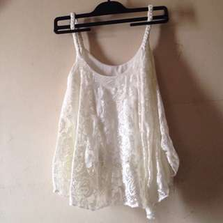 Lace Hanging Blouse