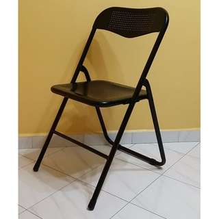 Comfortable Perforated Metal Folding Chair/s