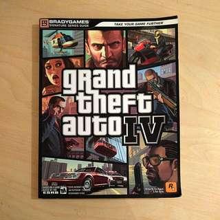 Grand Theft Auto IV BradyGames strategy guide (GTA 4)