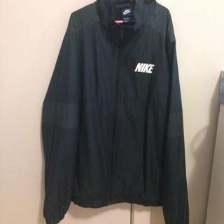Vintage Nike Black Windbreaker