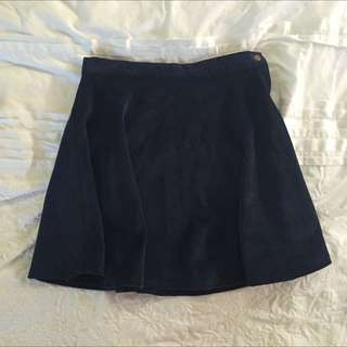 American Apparel Navy Skirt