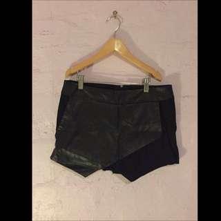 Sportsgirl Leather Skort