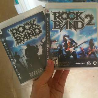 Rock Band 1 And 2