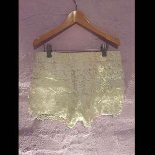 Ice Lace Shorts