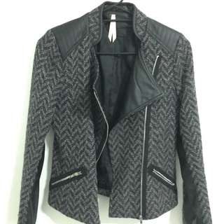 Conservative Biker Jacket - Size 10