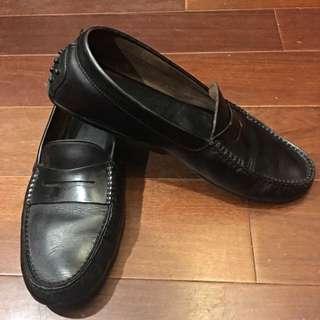 (最後降價!!!)Tod's牛皮豆豆休閒鞋 樂福鞋 Loafer (男鞋10.5)