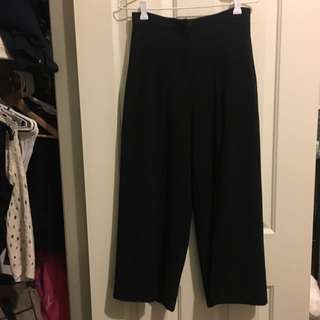 Bardōt Wide Leg Black Pants