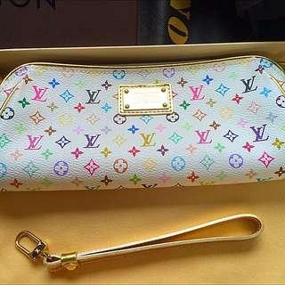 Louis Vuitton Kate Multico Blanc Clutch