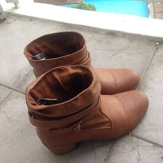 Brown Lower East Side Boots