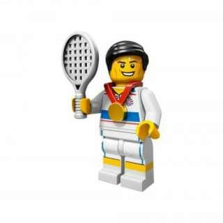 Lego Team GB Tennis Player