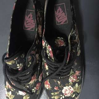 Floral Authentic VANS