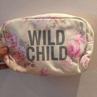 Wild Child Makeup Bag