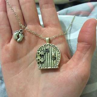 """hobbit"" Door Necklace"