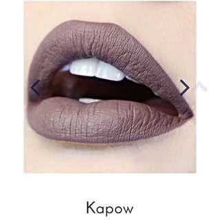 Colour Pop Ultra Matte Liquid Lipstick - Kapow