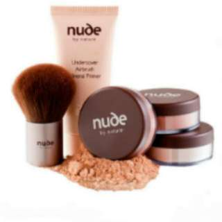 Nude By Nature Complexion Perfection Starter Kit -Dark