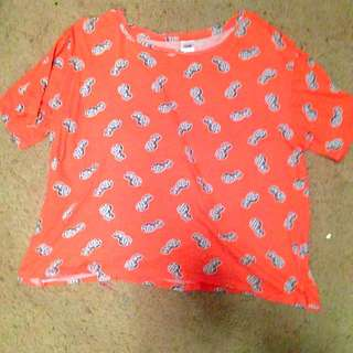 Baggy Pinnaple Shirt