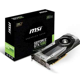 MSI GeForce GTX 1080 Graphics Card Founders Edition