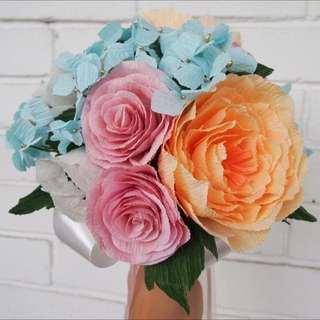 Peony, Rose & Anemone Bridal Bouquet