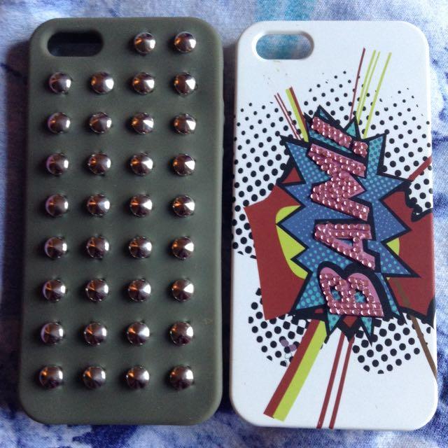 2 iPhone 5 Cases