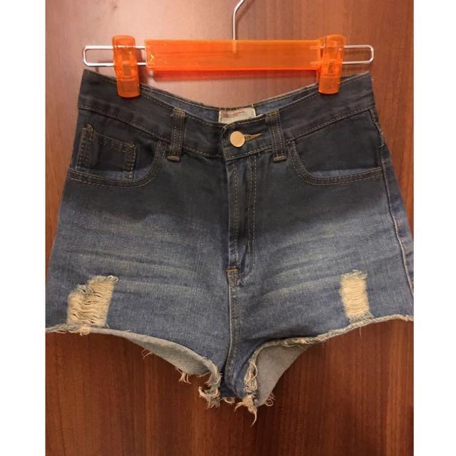 降價💙正韓高腰簡約短褲💙44-S
