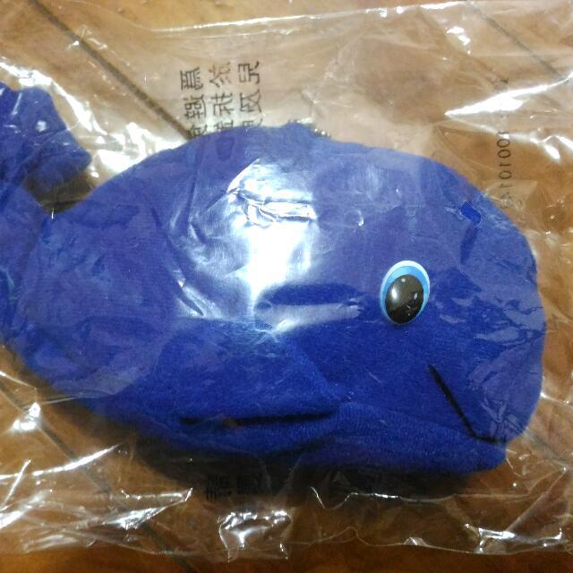 (半送!)可愛藍色鯨魚布偶 Cute Whale Puppet