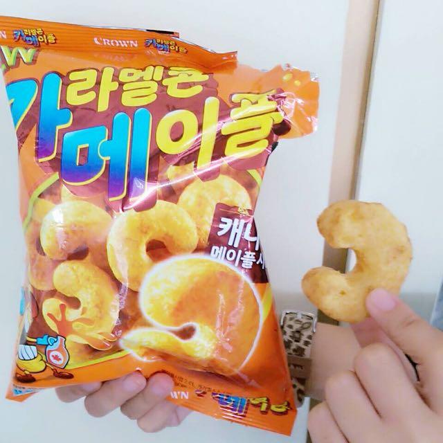 韓國版大乖乖。楓糖口味~