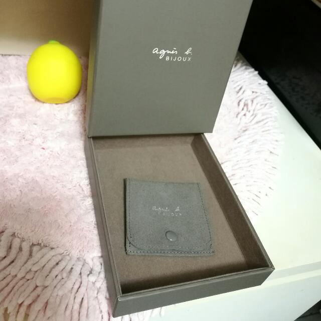 Agnes b /sport b 精裝盒 收納盒 首飾盒 禮盒 硬盒