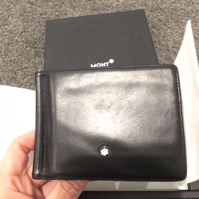 Authentic Mont Blanc Men's Wallet