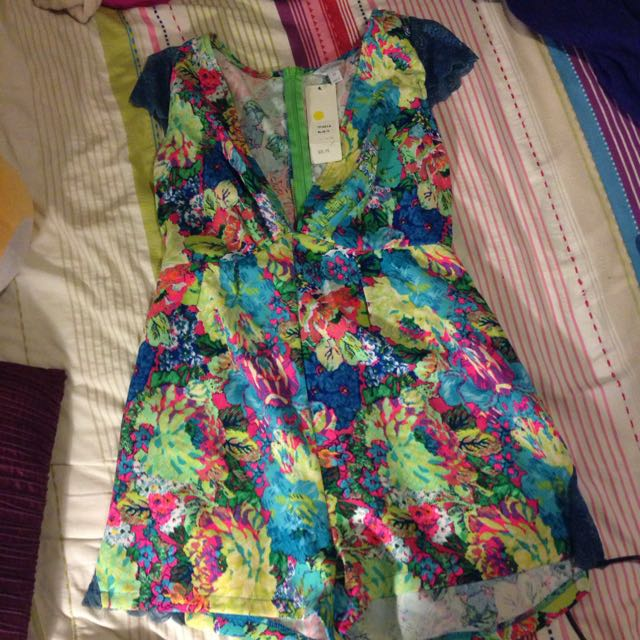 Bright Playsuit