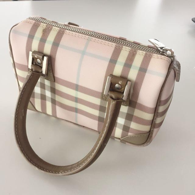 Burberry Mini Tote Bag - Pink