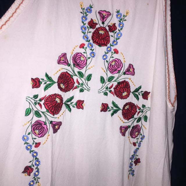 Casual Dress With Beautiful Floral Pattern