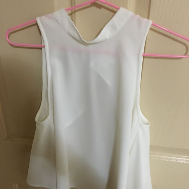 I.D.S Backless Top, Size 10