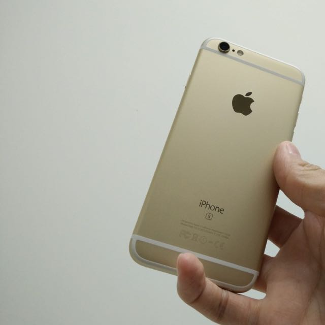 IPhone 6s Plus 64g金色 台積電晶片