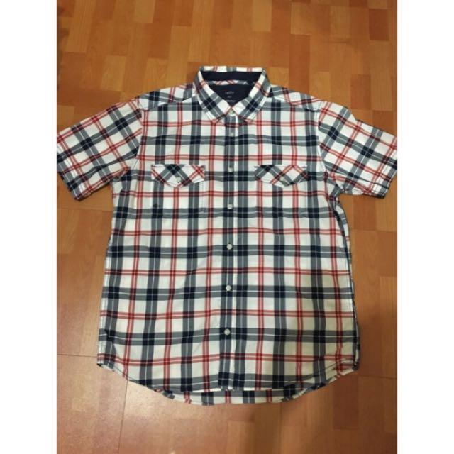 Lativ 格子襯衫 L