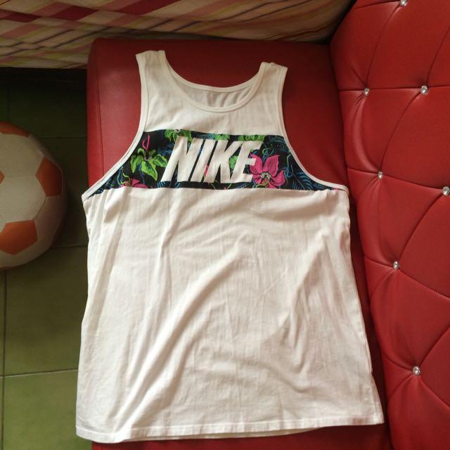 Nike 花花 背心 Tank 非Adidas Reebok