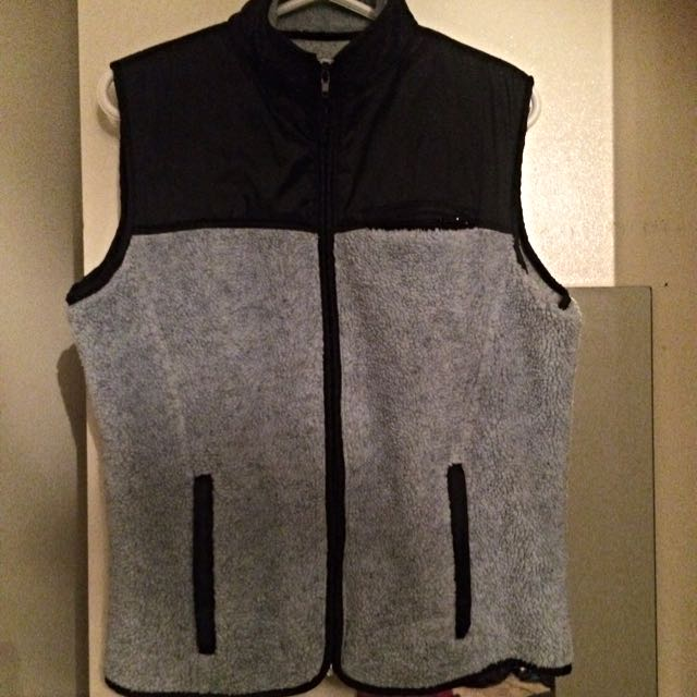 Old School Blue Vest