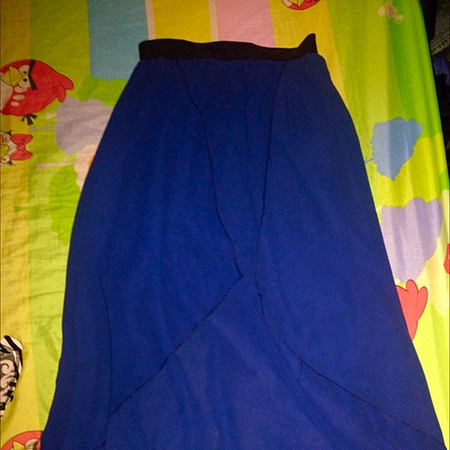 Preloved Chiffon Long Skirt