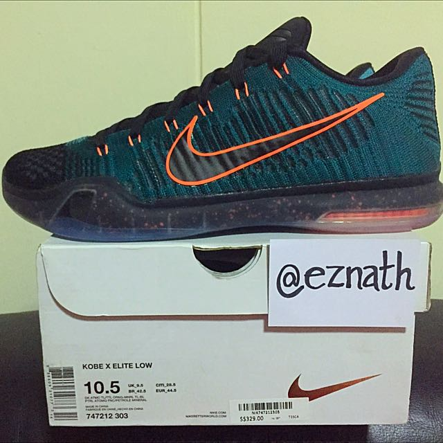 official photos 09aa5 69ef3 Nike Kobe 10 Elite Low Drill Sergeant, Sports on Carousell