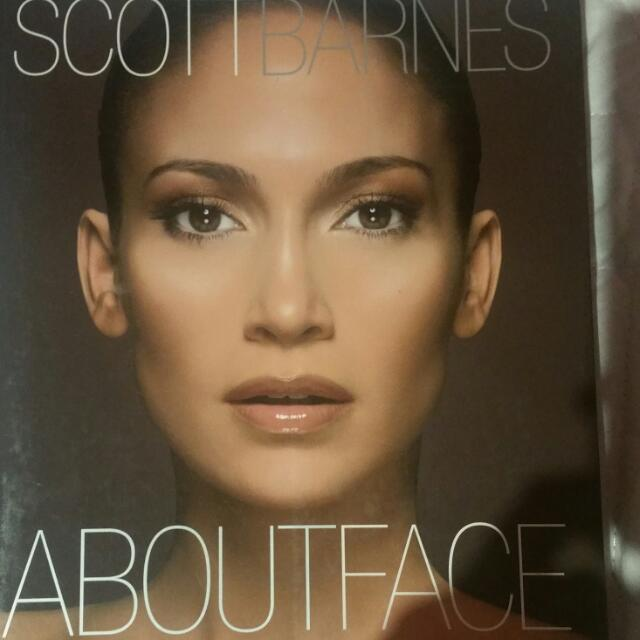 Scott Barnes About Face (Makeup Book)