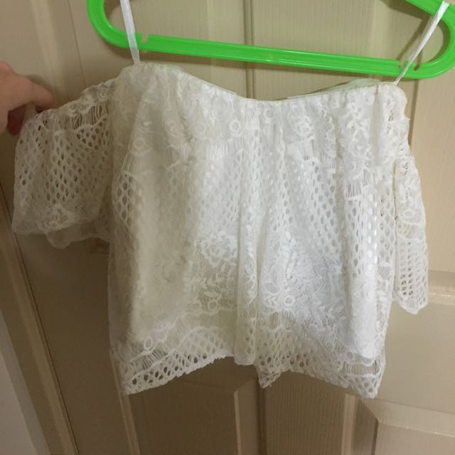 Stella Forest Off The Shoulder Top, Size 8