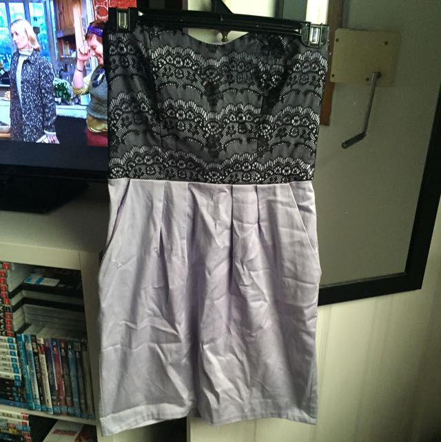 Strapless Hot Topic Dress