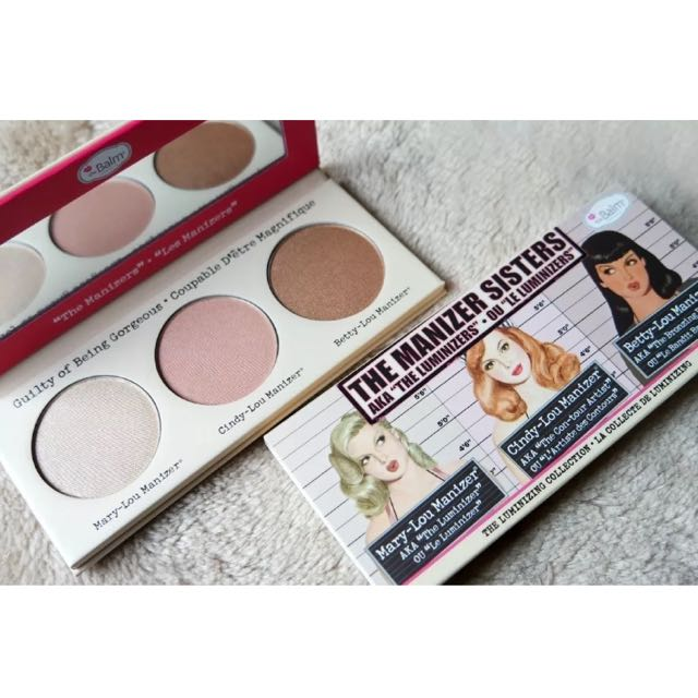 The Balm The Manizer Sisters Highlight And Bronzer Pallette
