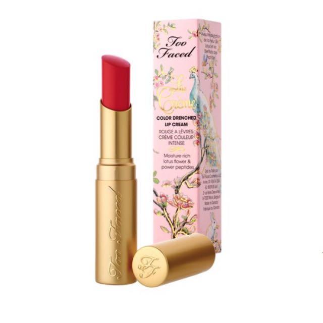 Too Faced La Creme Lipstick - Jelly Bean
