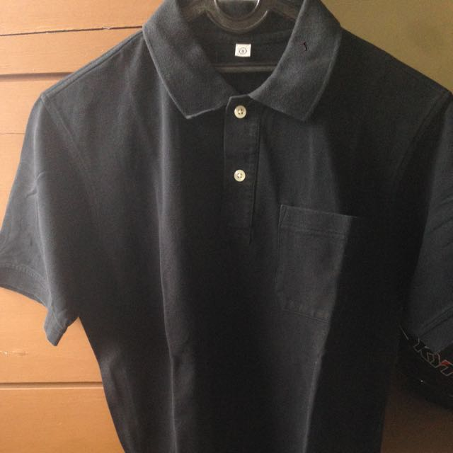 Uniqlo Polo Shirt Original Black