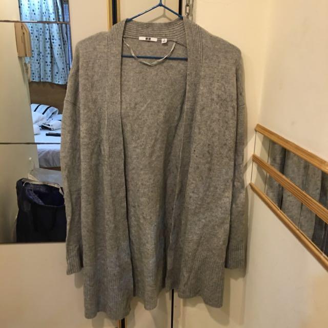 日本UNIQULO薄長外套